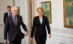 DENMARK, Copenhagen, Herman Van Rompuy