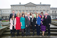 8/3/2013 : DUBLIN : Women for Election. Picture Conor McCabe Photography.