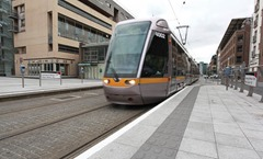 Transport LUAS Dublin. PIC CREDIT: Bryan Brophy/1IMAGE(c)2011  Copyright Licence to Use for AgendaNi Magazine/Unrestricted Time Period/Ireland and Great Britain Bryan Brophy/1IMAGE Photography(c)2011  1IMAGE Photography STUDIO: +353 1 493 9947 MOBILE: 087 246 9221 EMAIL: info@1image.ie WEB: www.1image.ie