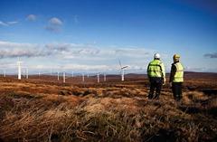 Onshore Wind Farm Farr, Scotland / Onshore-Windpark Farr, Schottland
