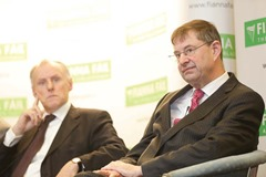 "**** NO REPRODUCTION FEE **** 9/03/2013 : DUBLIN : Fianna F·il today hosted a National Policy Conference on CAP. The future of the CAP and the future of farming in Ireland was debated at the conference, which was hosted by Fianna F·il Agriculture Spokesperson …amon "" CuÌv TD with opening remarks by party leader Miche·l Martin TD. The guest speakers included; Professor Alan Matthews, Professor Emeritus of European Agriculture Policy, Trinity College; Gabriel Gilmartin President of the ICSA and John Comer President of the ICMSA. Picture Conor McCabe Photography....For more information contact Eoin Weldon Fianna F·il Press Office 086 385 3721"