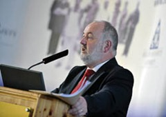 "The Chief Executive of the Health and Safety Authority, Martin O'Halloran at The Health and Safety Authority (HSA)  Work Place Transport conference - Working to create a National Culture of Excellence in Workplace Safety.Safety Seminar hears over 50% of all workplace deaths involve vehicles.A Health and Safety Authority seminar on Workplace Transport Safety takes place in the Rochestown Park hotel in Cork today .The Chief Executive of the Health and Safety Authority, Martin O'Halloran, says that the increase in number of workplace accidents involving vehicles is alarming, ""This is an issue that affects a lot of workplaces across all sectors, with over 50% of fatal accidents this year involving vehicles this is a trend we must work to reverse.The Cork event is the first in a number of seminars being hosted by the Health and Safety Authority to highlight the dangers that vehicles can pose in the workplace. Further events in Meath (14th October) and Galway (15th October) are designed to raise awareness of this issue.  Deirdre Sinnott, Senior Inspector with the Health and Safety Authority outlined some of the steps the Authority intends to take to reduce accidents of this kind. ""These seminars are designed to provide employers and their safety advisors with information on how to effectively manage workplace transport safety. We will also be continuing with our inspection and awareness campaigns and we hope to see a reduction in these types of accidents as a result of this,"" she said.The 4 most common types of accidents involving vehicles where workers are being killed are; people being run over by a vehicle, people falling from a vehicle, objects falling from a vehicle and hitting people and the collapse / overturn of a vehicle. Photographs: Gerard McCarthy 087 8537228 more info barry devitt press office HSA 01 6147066"