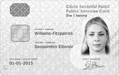 Public Services Card Specimen