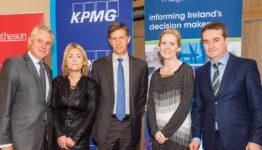 Brian Murphy, National Development Finance Agency; Rhona Henry, Matheson; Tanguy Desrousseaux, European Investment Bank; Michele Connolly, KPMG & Robert Watt, Department of Public Expenditure and Reform.