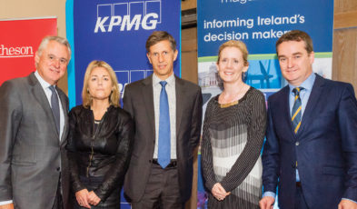 Brian Murphy, National Development Finance Agency; Rhona Henry, Matheson; Tanguy Desrousseaux, European Investment Bank; Michele Connolly, KPMG & Robert Watt, Department of Public Expenditure and Reform.