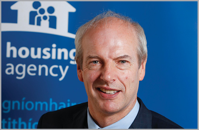 The Housing Agency Chief Executive John O'Connor