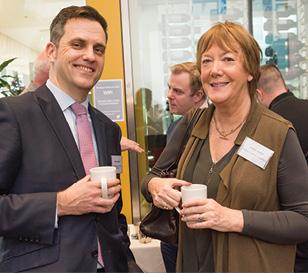 Brian Keaney, South Dublin County Council and Hazel Jones, Barta Capital Property.