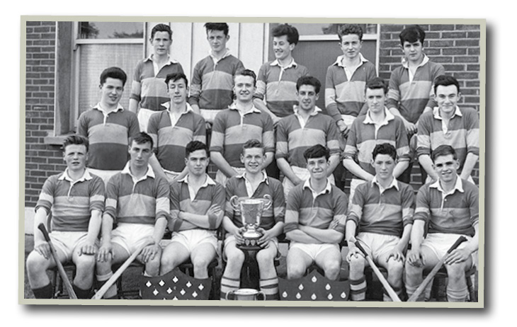 U19 Hurling-Team-1964, Brendan was U16: back row second from left.