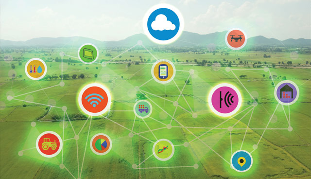 Disruptive technology in agriculture: Alternative futures