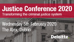 Justice Conference, Wednesday 5th February 2020, Alex Hotel, Dublin,