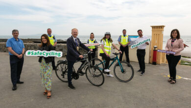 Photo of Active travel agenda on the move at Fingal County Council